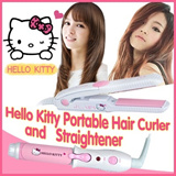 5 days arrive★Hello Kitty Ionic mini portable Hair Curler. travel size /Hello Kitty portable hair straightener