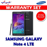 Samsung Galaxy Note 4 LTE Local Warranty Set