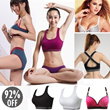 ♥3 Or More Free Shipping♥ No Rims Super Gathered Sports Bra/ Seamless Yoga Top/ Natural Comfortable Bust Up