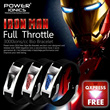 [2014 ARRIVAL]Power Ionics 3000ions/cc IronMan Full Throttle Titanium Ge F.I.R Carbon Fiber Bio Watch Style Golf Sports Bracelet