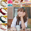 New Design !!♥ High Quality ♥ Most Popular Korean Lovely Hairband ♥ Lovely Bowknot Hair Ribbon❤ Makeup Hair Band♥ Buy 4 Free Shipping !♥