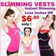 2014 HOT Collection Women Body Shapers :SLIMMING VEST (美體補整美胸平腹衣)Slimming/Diet/Trim/Fit/Body Care *5 Styles*