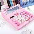 [one Space] Hello Kitty calculator / Rilakkuma calculator / doraemon  / melody iphone5/4/4s casing hello kitty mouse / alarm clock