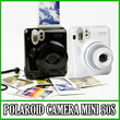 [FUJI INSTAX]READY STOCK INDONESIA!! 2-3Hari Pengiriman!! Polaroid Camera Mini 50s Black Piano and W