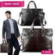 FEGER PU Leather Mens Laptop Bag/ Business Bag!! Briefcase/Bags/Handbags/Wallet/