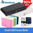 30000mAh20000mAh 12000mAh Dual USB Power Bank Portable External Battery Charger for iPhone/iPad/Sams