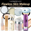 [THE FACE SHOP] Flawless Skin Makeup 7 must-haves / Primer CC BB Concealer Powder