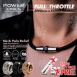 [Christmas Gift]New 1Set Power Ionics Full Throttle 3000 ions/cc Fashion Sports Titanium Necklace