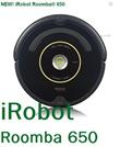 ★Never Again★Hit Item!!iRobot Roomba Vacuum Cleaning Robot Roomba 650/Professional Robotic Vacuum Cleaner