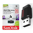 Original Sandisk Ultra Dual USB Drive 16GB / 32GB OTG for your Smartphone Samsung Sony Xiaomi * Transfer your content between phones tablets and computers * Thumb Drive * Flash Drive *
