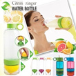 [Free shipping]2014Popular Citrus Zinger Water Bottle Light Bottle/ Kid Zinger Childrens lemon Cup/Vitality Manual Juicer Cup /Lemonade Bottle/ Lemon/ oranges drink Mixer