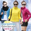 【19th Sep】BRAN 2014 Womens winter down jacket/ 0-20degrees warm/ LADIES JACKET/ Cotton jacket/ winter jacket coat/ Wind  rain jacket /travel warm【FREE SHIPPING】