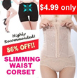 86% Off SLIMMING WAIST CORSET : Slimming Corset Top/Pants/High Waist Slimming Underwear *Premium Quality*