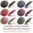 Auto Open and Close Umbrella / Automatic 1 Button Open / Close Umbrella