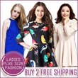 [BUY 2 FREE SHIPPING] 8th Mar New Arrival Plus Size Dress Blouse Work Dress Code Korean Style UK style