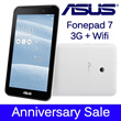 [25th Year Anniversary] ASUS FONEPAD 7 - 3G + Wifi !!!
