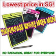 [Great Xmas Gift] Boogie board LCD e-writer. Paperless writing that last for years! Innovative children Education Tool! No Radiation. Writing / Drawing Anywhere Anytime!