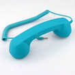 HD MIC 3.5mm Retro POP Phone Handset for iPhone iPad Blue