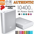 ★100% Authentic!★ SG Shop Assurance ♥Xiaomi 10400mAh PowerBank Portable Battery Charger♥ Xiaomi Silicone Case♥ Portable Charger iphone 5/5S iOS7 Samsung/xiao mi mi3/ Yoobao Power Bank 5200 redmi