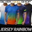 Kaos Jersey  Rainbow 1313 ||Ready Stock||