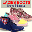 [New Updated 01/20] LADIES BOOTS - Brave and Beauty