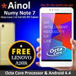 New Launch Special Deal: Buy Ainol Note 7 (OCTA CORE) Full HD IPS tablet Gold Color | FREE one set of Lenovo A269i Android Handset | Limited Set only