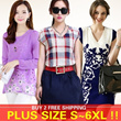 NO PROFIT!!2014 New Arrivals High Quality Fashion Style Big Size/Figure Flattering/Dress/Blouse/Plus Size S To 6XL