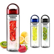 Tritan Infused Bottle With Fruit Infuser BPA Free - suitbale for gym play - carry while on the go!