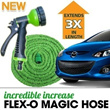 ★Korea TVShopping MEGA Hit★FLEX-O MAGIC HOSE Spray Gun Incredible increase Magic Hose for Garden CAR
