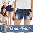 10type★[Free Shipping]★[Made in Korea]BestSeller Pants LINEN/denim pants/comfy shorts pants/hot pants/color pants