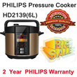 Philips Pressure Cooker HD2139(6L)-lowest price for island free Upgrade to 2yrs Philips of/rice cooker