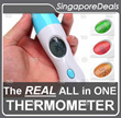 [singaporedeals] PREMIUM Contactless Digital Infrared Thermometer adult baby (Not Braun)