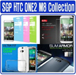 [100% Authentic SPIGEN SGP] HTC ONE2 M8 Case Cover Casing Screen Protector Glass Collection