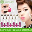 【Secret Key HQ Direct Operation】Twinkle Gel Pencil Liner_1.2g(4pcs)