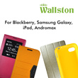 WALLSTON Case for BlackBerry Q5 / Samsung Galaxy(S4 Mini/S4/NOTE3/MEGA 5.8) / iPad(Mini Retina/Air) / Andromax(T/U2/V)