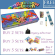 Rainbow Loom - Bracelet Making Kit - Free Shipping and Buy 5 Units To Get 1 Unit FREE!(The More You Buy The More You Get!)