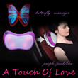 Superb 4 roller massager for home and car use with heat function! Butterfly massager
