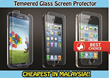 [Malaysia Seller]Tempered Glass Screen Protector Curved (0.3mm)-Samsung Galaxy S4/S5/Note2/Note3 Iphone 4/4S/5/5S/6/6Plus/ Mi3/Hongmi 1S/Hongmi Note/