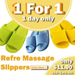 ★Buy 1 Get 1 Free★ 100% Authentic REFRE Japanese Massage slippers【Popular Japan Slippers】Japanese Massage Slippers/health slippers