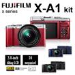 [Fujifilm]Fujifilm X-A1 XC16-50mm Kit + XC50-230mm lens ★FREEBIES: Extra Battery + 16GB + Case + Cleaning Kit + Monopod ★APS-C CMOS Sensor ★ Wireless Transfer ★1 Year Fujifilm Singapore Warranty