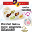 [Hong Kong Wing Wah]Bird Nest Deluxe Snowy Mooncakes(6pcs / box) 燕窩冰皮月餅 Original Price: $84.50 per box