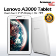 Lenovo A3000 Quad Core 7 Inch Tablet PC - 3G with Wifi - 16GB Internal Storage