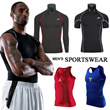 2015 New Arrival!Men Sportswear/Compression Skin Wear/Long sleeve/Short sleeve/Running Sports Wear/Basketball Vest/Athletic Exercise Wear/Tops/Gym Fitness/Men's Sport Suit
