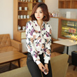 [Envy Look] Flower Printed Jacket Jumper / korea trendy style / New Look / fashion / korean women fashion / ladies apparel / korean fashion / woman / Ladies Wear / plus size