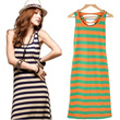 2014  New  Type of dress Long Dresses/ Summer/   Fresh And Elegant/  /Female  Leisure Sleeveless Vest Dress Skirt/