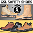 GSL SAFETY SHOES 11 Models Available