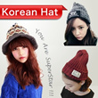 2014 new Korean fashion hat korean drama Style Christmas gifts Beanie/Warm hats/Winter Hats/Worn in various ways/popular Winter Knitted Hats / Warmth / Thick