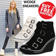 2014 NEW[24HR Today Special Price] Wedge Heels Sneakers Shoes collection ★UP