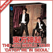 ▶東方神起◀ TVXQ!「CATCH ME 」LIVE WORLD TOUR CATCH ME in SEOUL Concert DVD / 2DVD+SPECIAL PHOTO CARD/ リージョンコード:ALL / 初回限定ポスタープレゼント /TOHOSHINKI