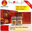 [CNY SPECIAL] CNY MEXICO ABALONE GIFT SETS PROMOTION / FREE GIFT BOXES and BAGS/ BUY 2 SETS FREE 2 GOLDEN SILK BIRDNEST SETS/ PROMOTION BUY 2 SETS FREE DELIVERY